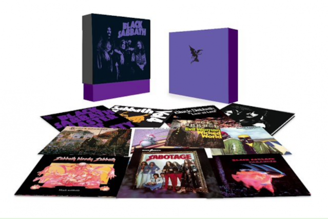 Black Sabbath's 'The Vinyl Collection: 1970-1978'