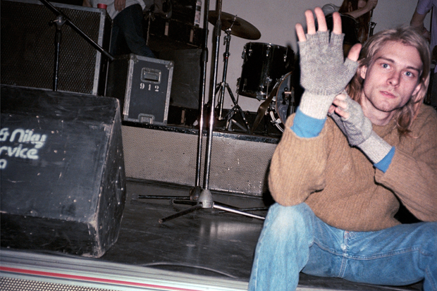Kurt Cobain / Photo by Bruce Pavitt