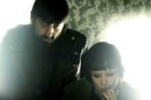Crystal Castles (L to R) Ethan Kath and Alice Glass / Photo by Marc Pannozzo