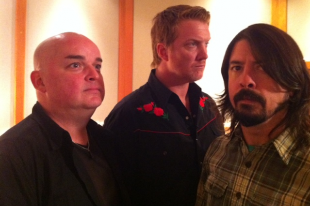 Dave Grohl Queens of the Stone Age