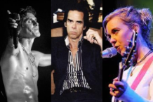 Perry Farrell, Nick Cave, and Kristin Hersh