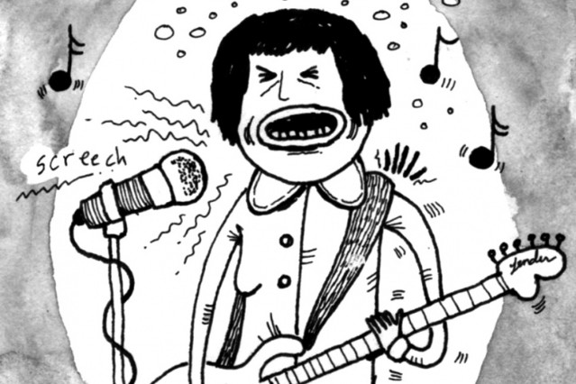 screaming females new release spring 2013 marissa paternoster ill comic