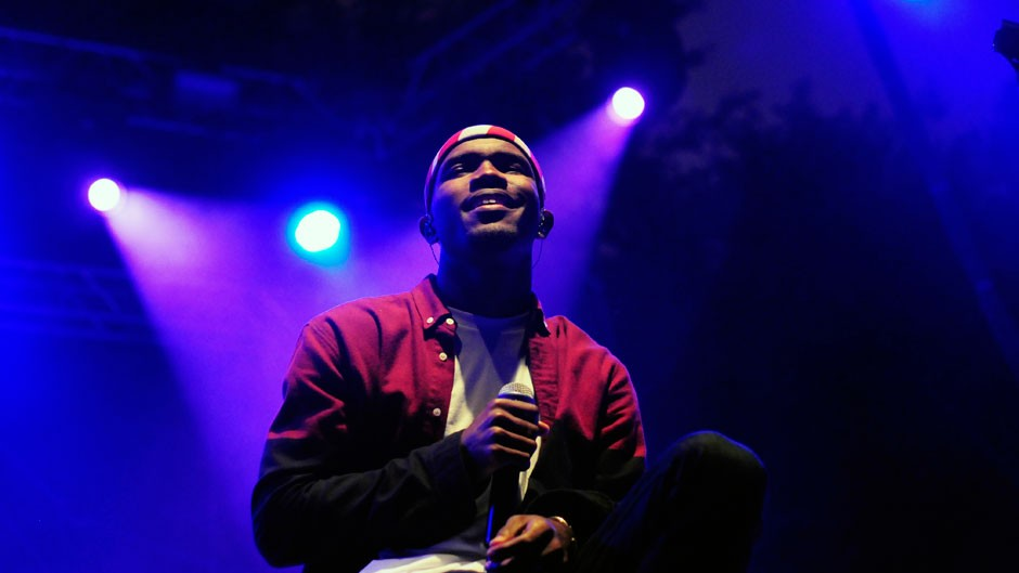 Frank Ocean performs at Lollapalooza, August 2012 / Photo by Billy Waters /Retna Ltd./Corbis