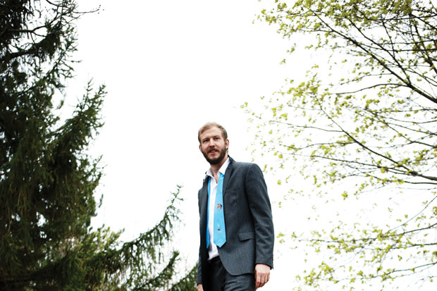 Justin Vernon, shot for SPIN's July 2011 issue by Ture Lillegraven