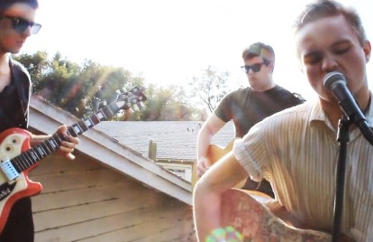 See Merchandise Rock a Roof in 'Become What You Are' Video