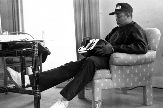 Dr. Dre in New York City, 1992 / Photo by Al Pereira/Michael Ochs Archives/Getty