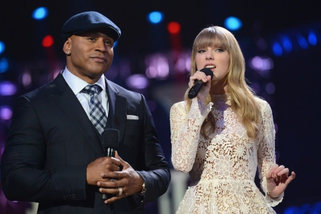 LL Cool J and Taylor Swift
