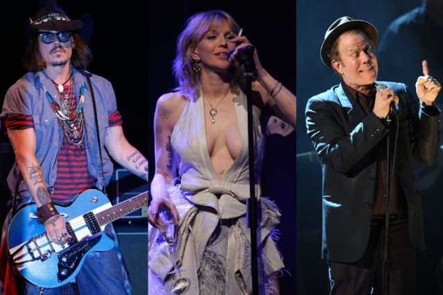 johnny depp, pirates album, courtney love, tom waits