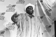 Notorious B.I.G. at the 1995 MTV Awards