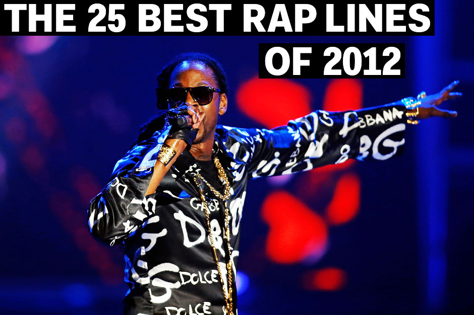 the 25 best rap lines of 2012