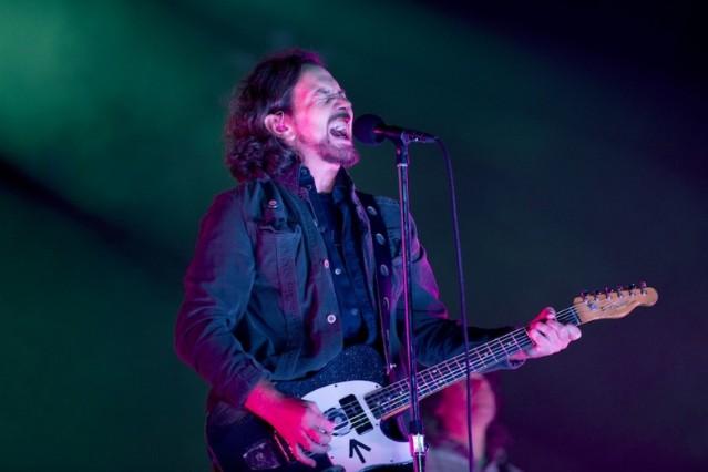 Pearl Jam's Eddie Vedder, 2012's Isle of Wight Festival 2012 / Getty