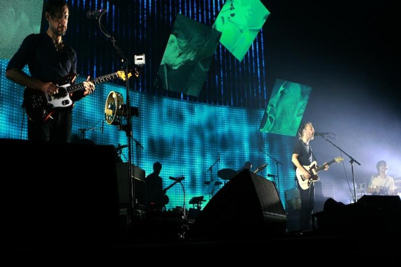 Radiohead, Live in London 2012 / Getty