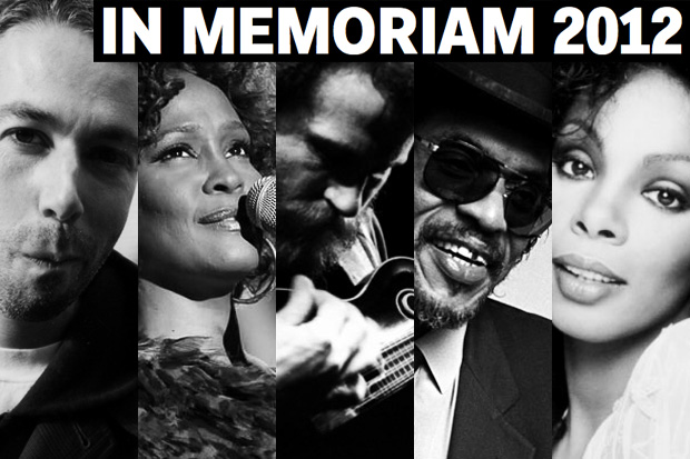 In Memoriam: The Musicians We Lost in 2012