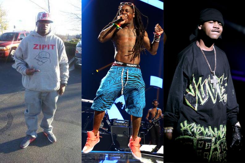 Turk, Lil Wayne, and Juvenile