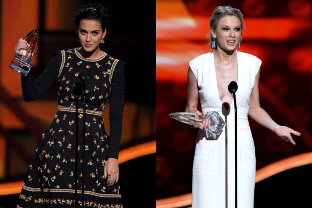 katy perry, taylor swift, people's choice awards