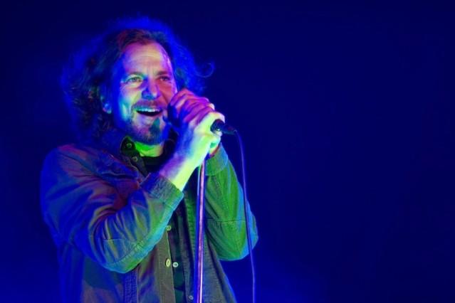 Pearl Jam's Eddie Vedder plays Isle of Wight