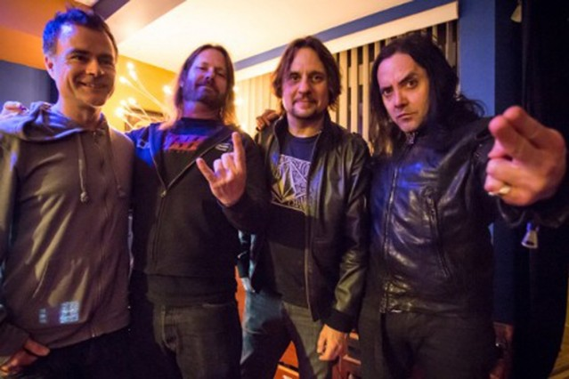 Ross Robinson, Gary Holt, Dave Lombardo, Casey Chaos, Nick Oliveri thrash metal supergroup