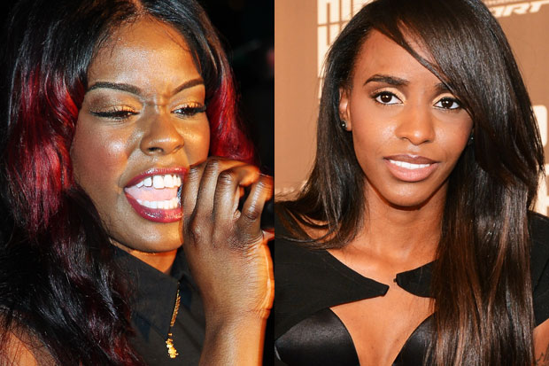Azealia Banks & Angel Haze/ Photos by Getty Images