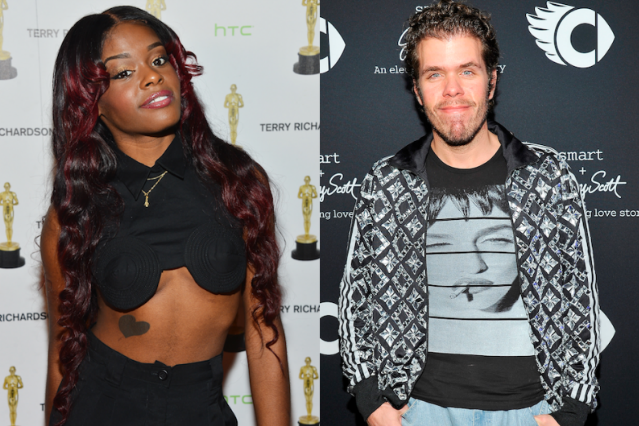 Azealia Banks and Perez Hilton