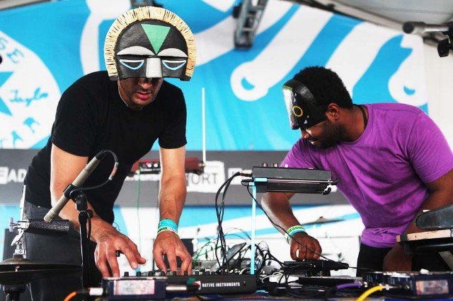 SBTRKT and Sampha / Photo by Roger Kisby/Getty Images