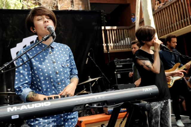 Tegan and Sara Rolling Stones Fool To Cry Girls Show