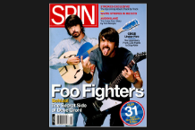 Dave Grohl SPIN Cover August 2005