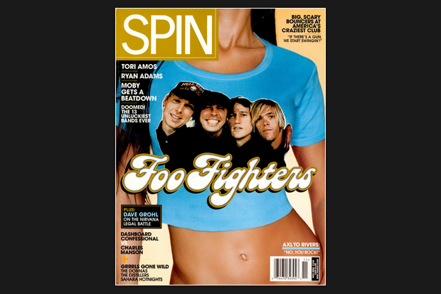 Dave Grohl SPIN Cover November 2002