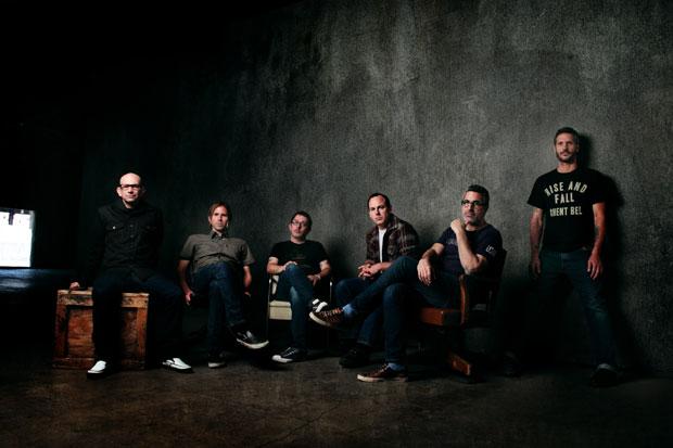 Bad Religion, Brett Gurewitz, second from right  / Photo by Myriam Santos