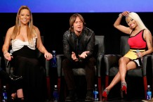 american idol, nicki minaj, mariah carey, keith urban