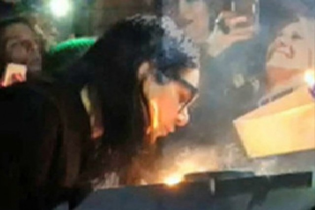 This Skrillex is on fire!