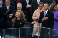 Watch Beyonce's Amazing, Obama-Inaugurating 'Star-Spangled Banner'