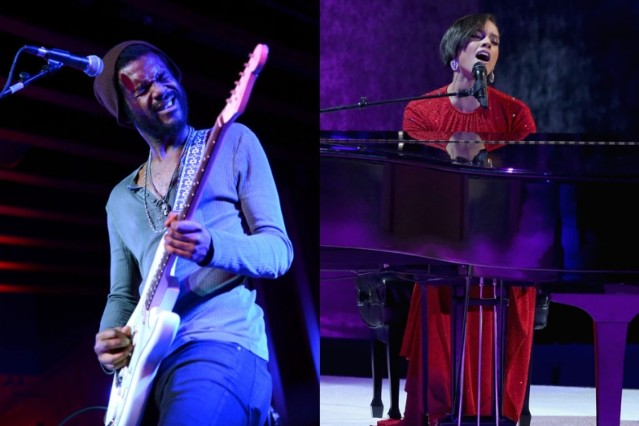 gary clark jr., alicia keys
