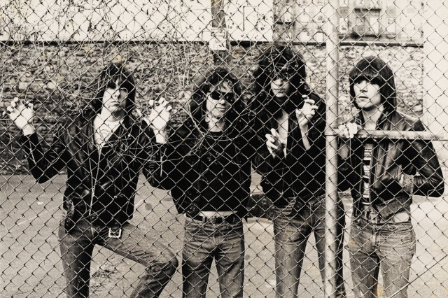The Ramones, from 'PUNK' Magazine