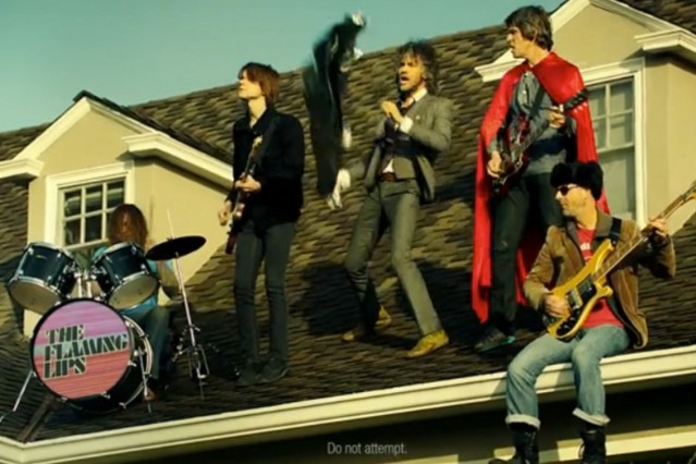 flaming lips, hyundai, super bowl ad
