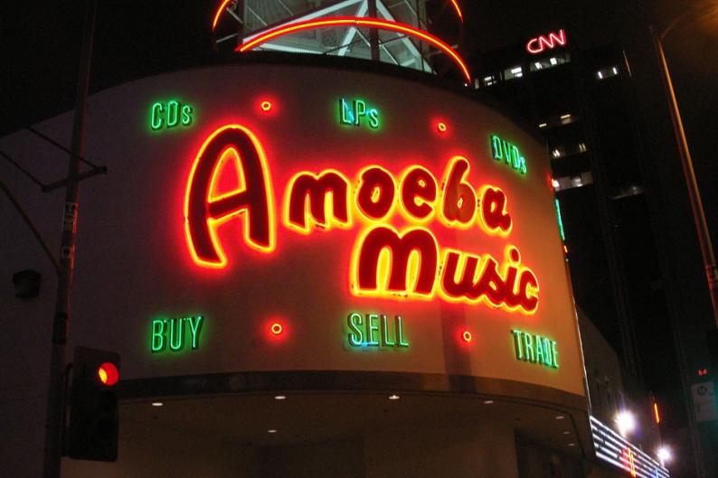 Amoeba Vinyl Vaults
