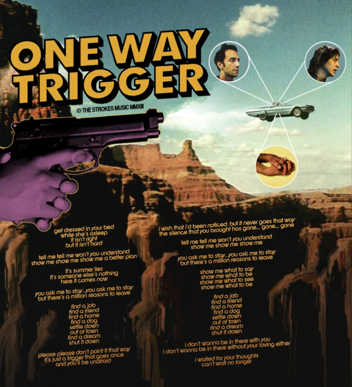 "The Strokes' ""One Way Trigger"""
