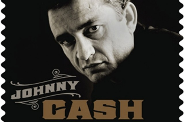 johnny cash, johnny cash stamp, u.s. postal service