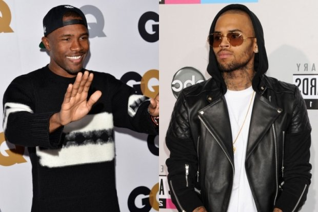 Frank Ocean and Chris Brown / Photos by Getty Images