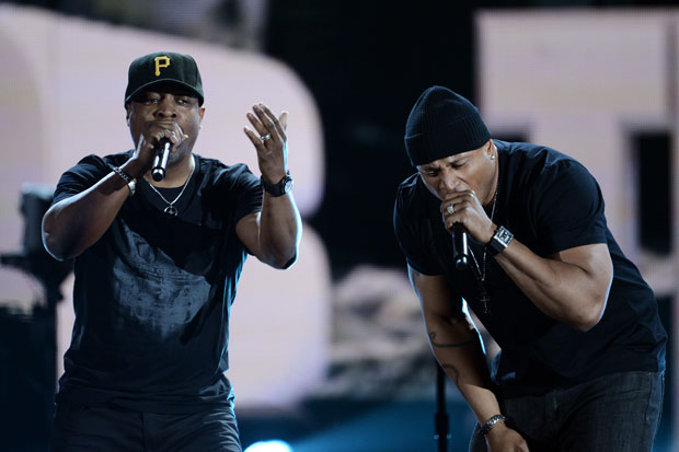 Chuck D and LL Cool J / Photo by Getty Images