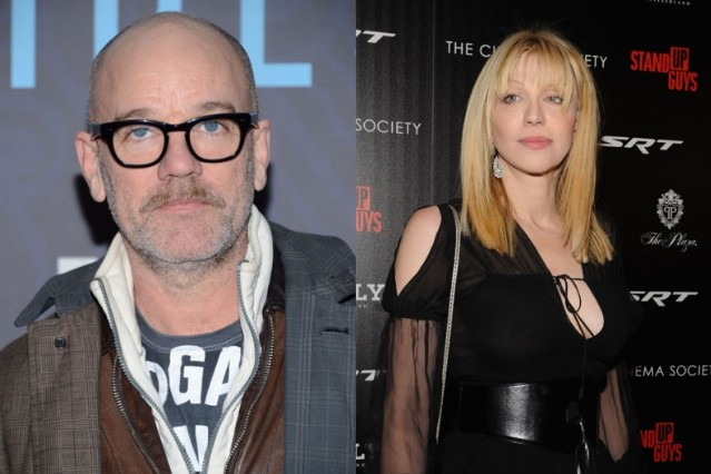 michael stipe, courtney love