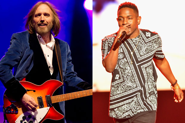 Tom Petty and Kendrick Lamar: Samir Hussein/Getty & Rick Diamond/Getty Images for BET