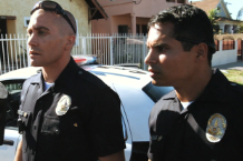 Jake Gyllenhaal & Michael Peña in 'End of Watch'