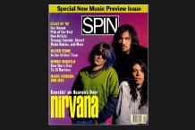 Nirvana SPIN Cover January 1992