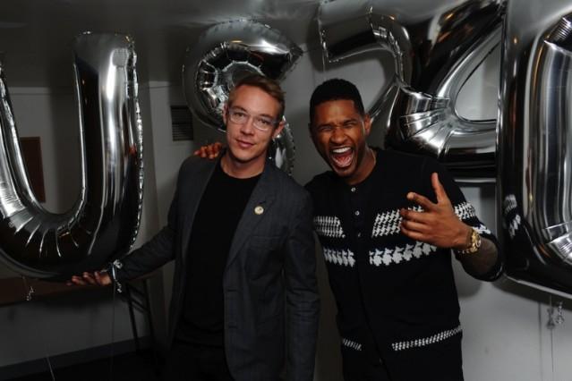 Usher, Diplo
