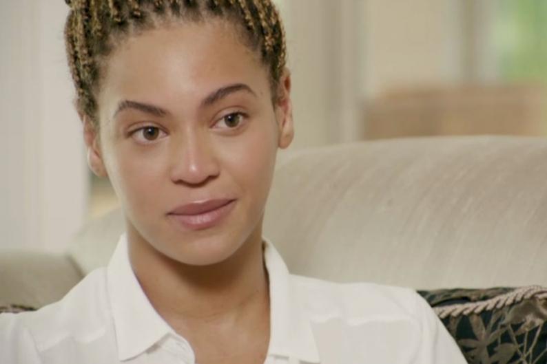 Beyonce Cries Documentary Oprah Jay-Z