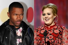 frank ocean, adele, BRIT Awards 2013
