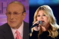 Clive Davis Dragging Out Kelly Clarkson Feud Long Enough to Sell Books