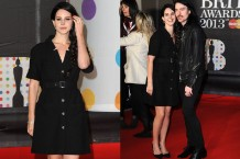 Lana Del Rey goes Nurse Ratched chic for the 2013 Brit Awards / Photos by Getty Images