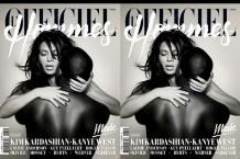 kanye west kim kardashian l'officiel french fashion cover