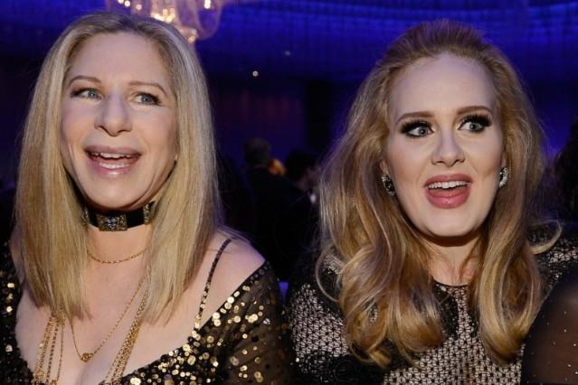 Adele, Barbra Streisand, Oscars